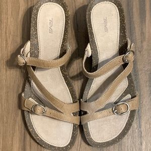 Teva Ventura Rialto Wedge Sandals  | Size: 7